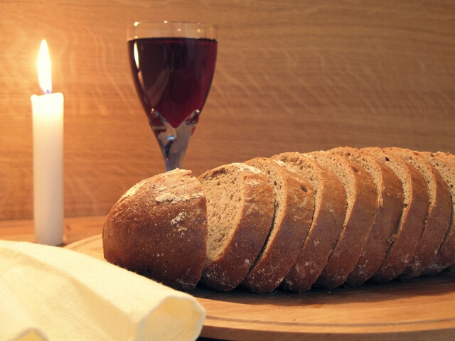 The bread and the wine.