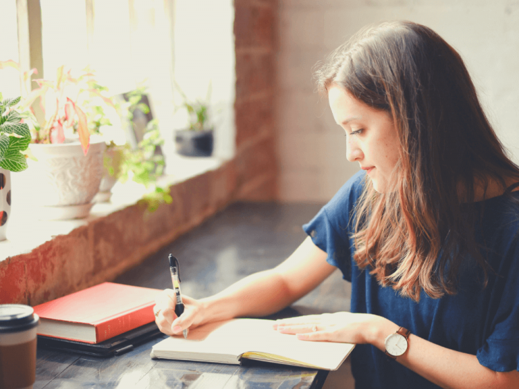 If you love writing in your monthly planner and daily To-Do, remember this: a woman may plan her course, but it's God who directs her path. #list-making, #planners, #organization