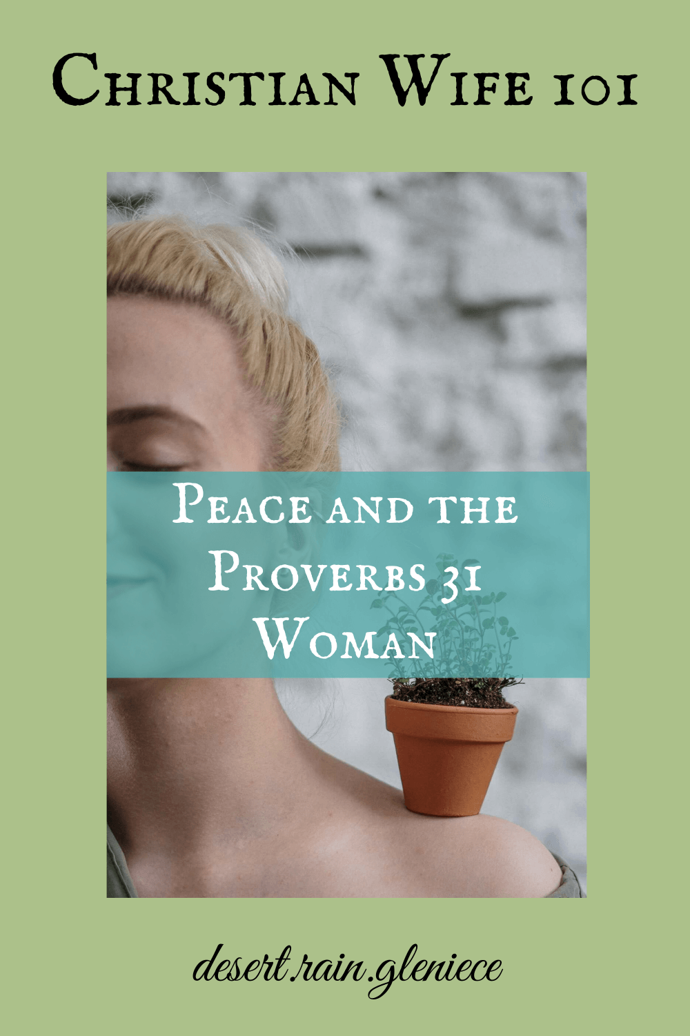 "Do you expect peace to bloom in your marriage on its own? Do you work hard like the Proverbs 31 woman but marital peace still eludes you? The phrase ""be ye perfect"" in the KJV is the key. #proverbs31woman, #godlywife, #peace, #perfect"