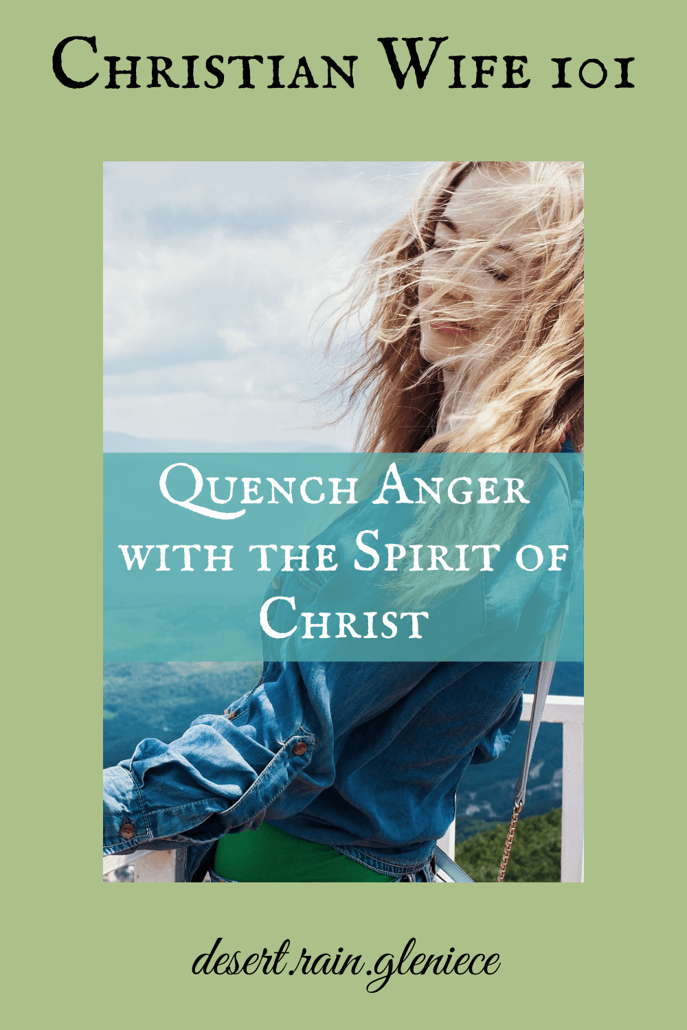 What causes tension in marriage and anger to flare? The fiery spirit of the accuser. But yielding to the Spirit of Christ will quench your anger and set you free. #christianwife101, #godlymarriage, #anger, #Christ